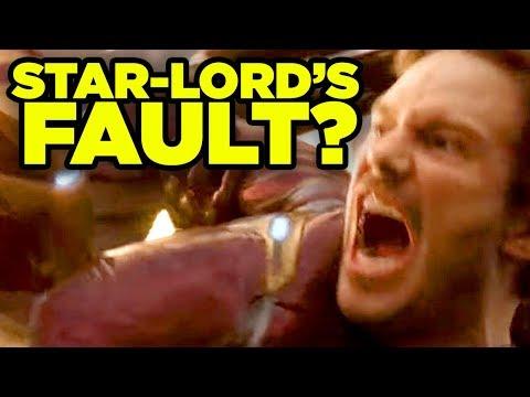Avengers Infinity War - STAR-LORDS FAULT? #NerdTalk