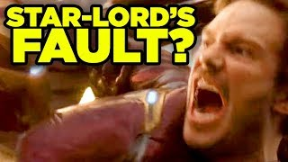 Avengers Infinity War - STAR-LORD'S FAULT? #NerdTalk