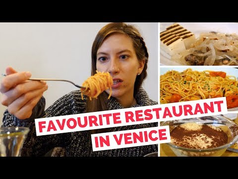 Italian Food Review | Our Favorite Restaurant In Venice, Italy