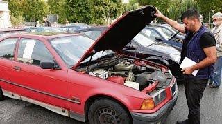Versteigerung sichergestellter Autos in Kassel