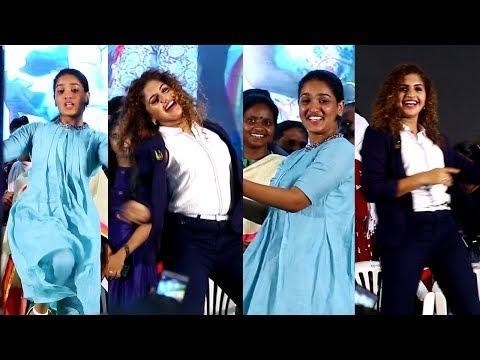 തകർപ്പൻ ഡാൻസുമായി നൂറിനും സാനിയയും മഹാത്മജി അവാർഡ് വേദിയിൽ | Noorin and Saniya Dance