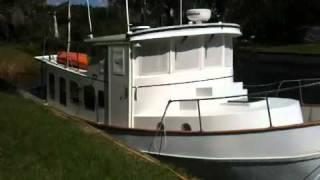 39' Steel Trawler, Exterior