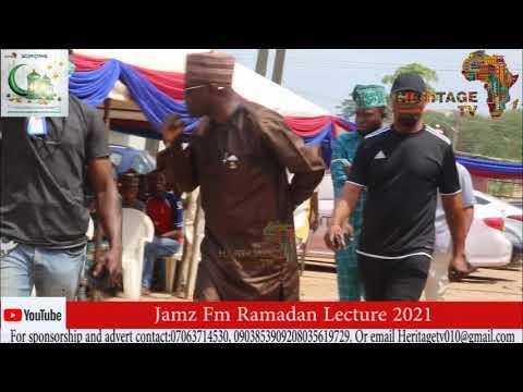 Download shiek Sannu Sheu Ramadan lecture at Jamz Fm.