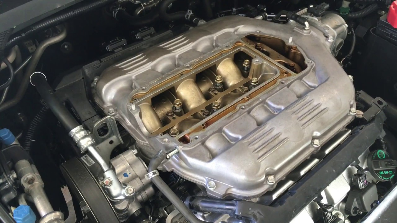 2008 Honda Accord V6 >> 2005-2010 Honda Odyssey Intake Manifold Removal DIY - YouTube