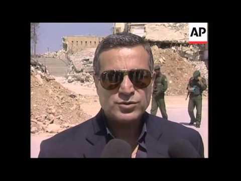 Rantissi and Arafat spokesman on Hebron, Israeli tanks in Gaza, Rau visits