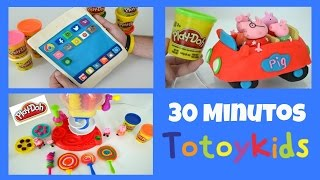 30 MINUTOS MASSINHA DE MODELAR PLAY-DOH!!! MELHORES VIDEOS DE MASSINHA DO TOTOTOYKIDS