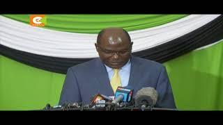 Chebukati ataka Raila na Uhuru wazungumze