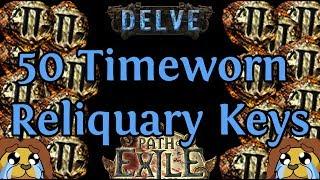 50 Timeworn Reliquary Keys (1.5 Mirrors Worth)