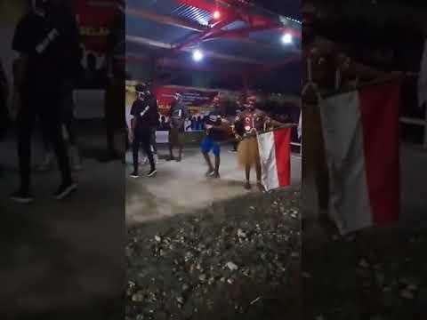 Dancer Warga Mimika Papua sambut HUT RI ke 74