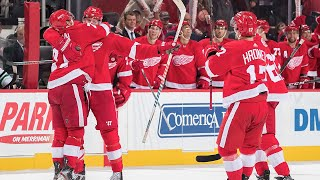 Anthony mantha thrills in hockeytown with four-goal game