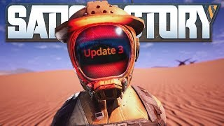 Satisfactory Update3 s01e22 Постапокалипсис и новые технологии