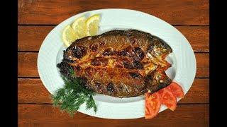 настоящая Армянская Рыба Сига из озеро Севана в духовке