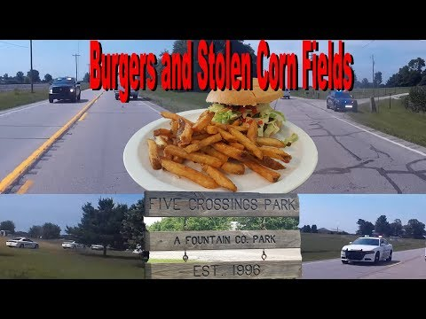 Barefoot Burger and Five Crossing Park Motorcycle Adventure