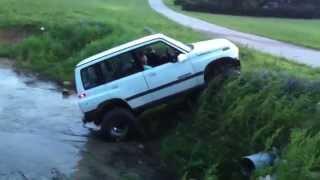 Suzuki sidekick lifted