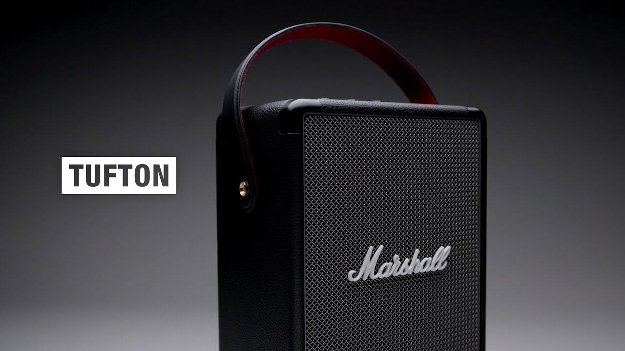 Marshall - Tufton Portable Speaker - Full Overview