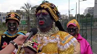La fiesta de la Mama Negra de Buenaventura llegó a la Casa de la Cultura.