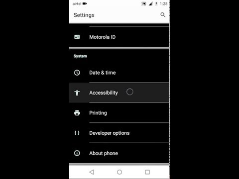 How to fix invert colours in Moto e Moto e4 plus Moto C plus