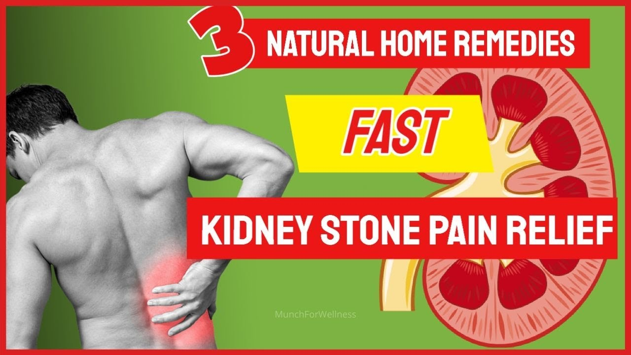 Kidney Stone Pain Relief Fast Natural Home Remedy Hint Lemons Herbs Dissolve Kidney Stones Youtube