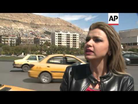Damascus residents react to Russian withdrawal