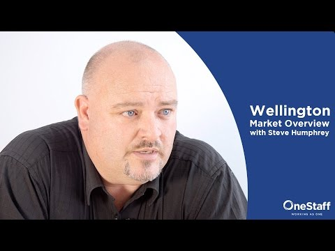 Job Search Advice - Wellington Market Overview with Steve Humphreys: Hot Jobs and Why Wellington?