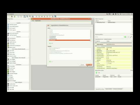 Creating Qt GUI application using Netbeans IDE and Ubuntu
