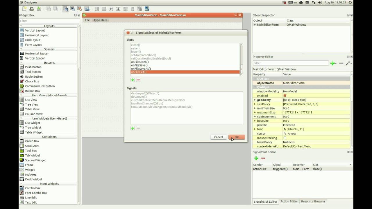 Creating qt gui application using netbeans ide and ubuntu youtube creating qt gui application using netbeans ide and ubuntu baditri Images