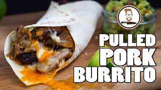 Three Cheese PULLED PORK BURITTO