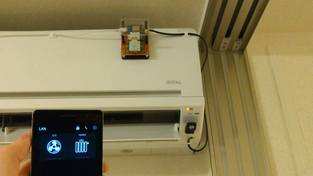 Esp8266 Wifi Air Conditioner Controller Iot For Home