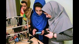 در این بخش دختران ربات ساز افغان که در رقابت های المپیک جهانی اشتراک کرده بودند دعوت شده است