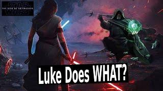 NEW Star Wars Leaks Show How Disney Will Fix Luke Skywalker