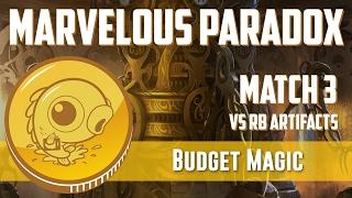 Budget Magic: Marvelous Paradox vs RB Artifacts (Match 3)