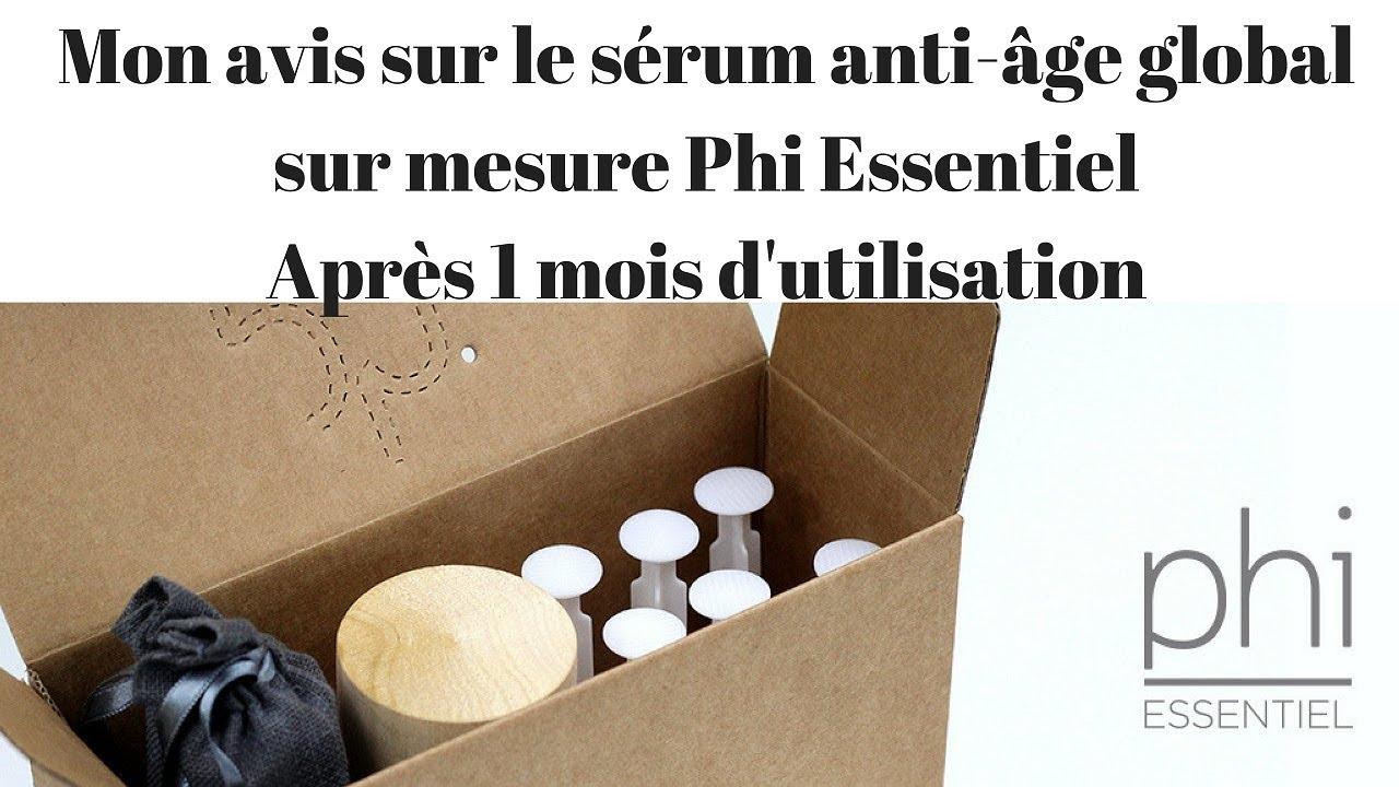 bc0e344cdd5 Mon avis sérum anti-âge global sur mesure Phi Essentiel sérum anti-âge sur  mesure Phi Essentiel bio