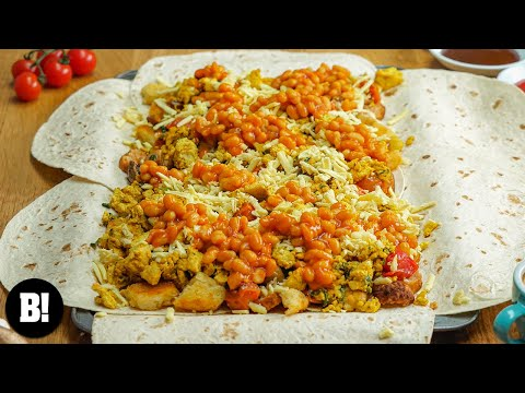 Full English Big Breakfast Tray Bake (Vegan)