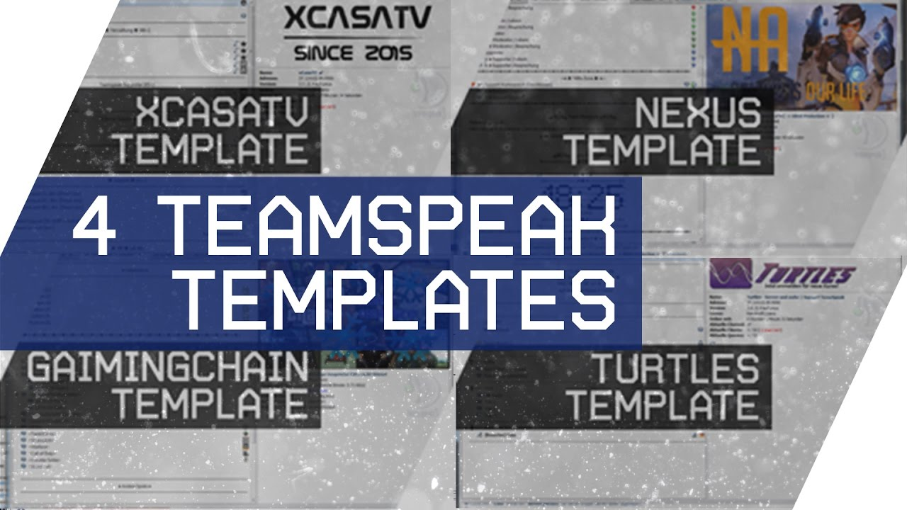 4 Teamspeak (TS3) Templates free download - YouTube