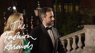 José  Neves, Molly Goddard & Sinéad Burke | The Fashion Awards 2018