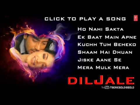 Diljale Movie Full Songs  Ajay Devgn, Sonali Bendre  Jukebox