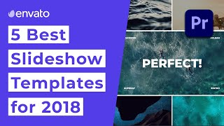 5 Trending Slideshow Templates for Premiere Pro | VideoHive thumbnail