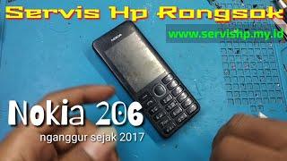 Servis Hp Jadul Nokia 206 mati suri