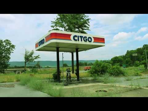 Abandoned Citgo Gas Station - A Look Inside