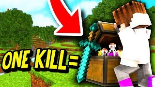 ONE KILL = ONE CHEST CHALLENGE! (Minecraft Battle Royale)