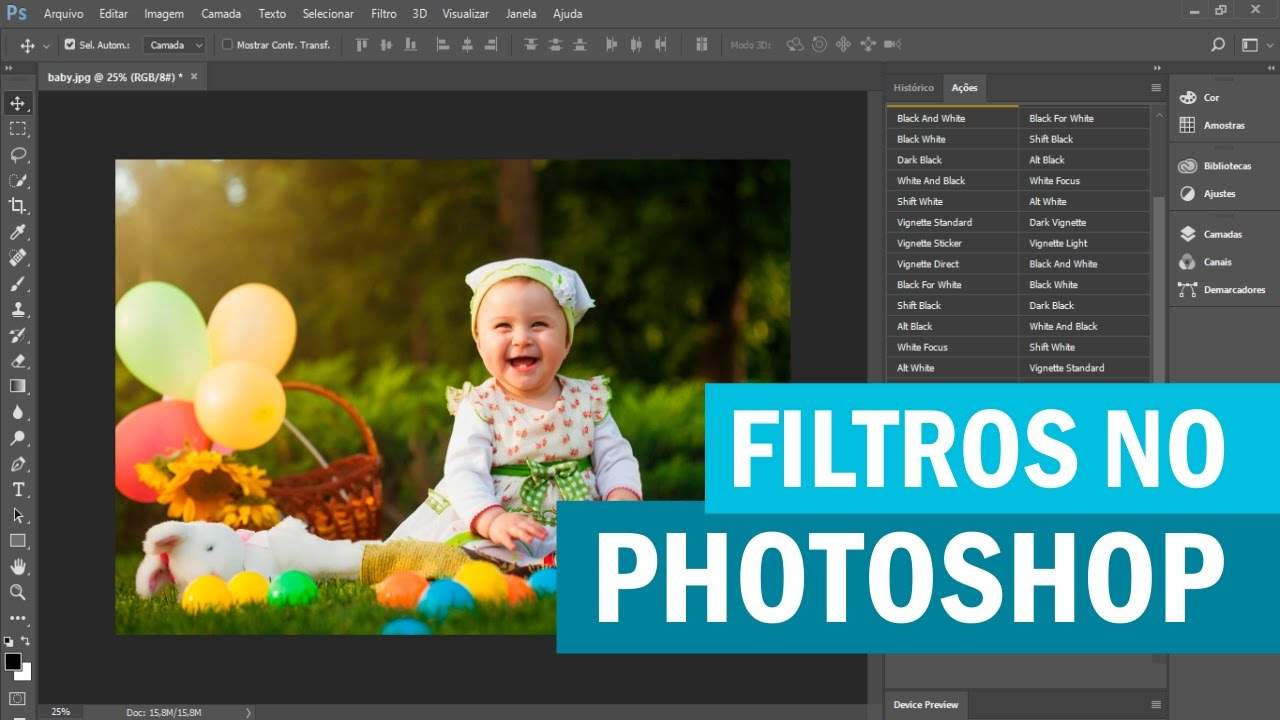Crear filtro de instagram en photoshop CS6