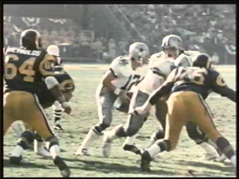 1975 NFL Game Of The Week • Cowboys vs Rams