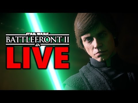 BOSSK OVER ANAKIN ONE YEAR ANNIVERSARY! Star Wars Battlefront 2 Live Stream #175 thumbnail