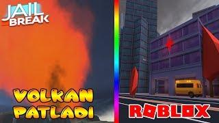 JAILBREAK VOLKAN PATLADI VE AMBULANS GELDI / Roblox Jaelbreak UPDATE / Roblox Tôrkçe / FarukTPC