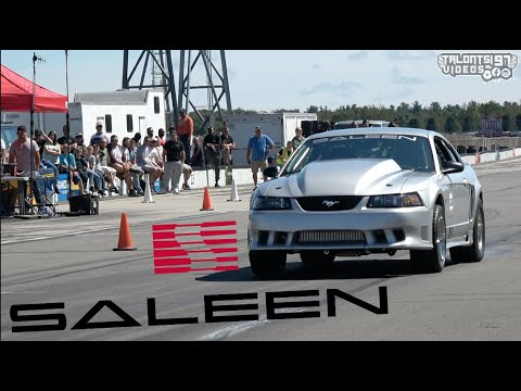 Twin Turbo SALEEN Mustang 176mph Roll Race & More!