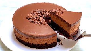 chocolate mousse cake recipe l Chocolate mousse cake