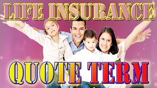 Life insurance quote term