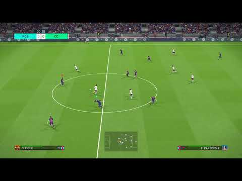PES 2018 - Barcelona-Colo Colo (PC) - Superstar Difficulty