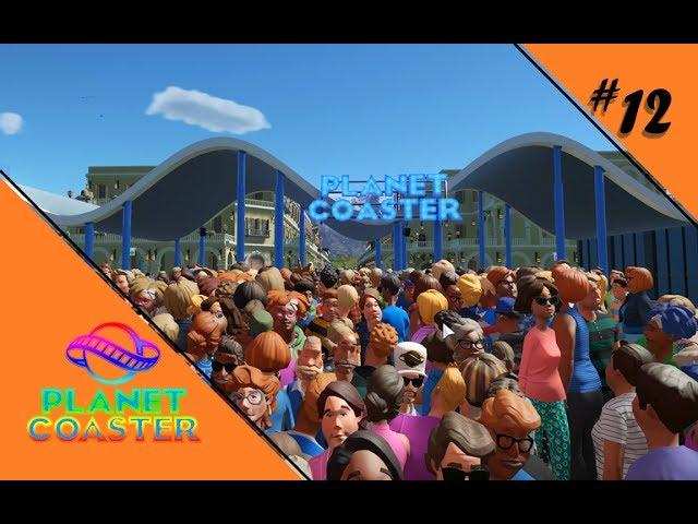 PARK 2.0 [STEAM WORKSHOP] 🎢 Let's Play Planet Coaster #12