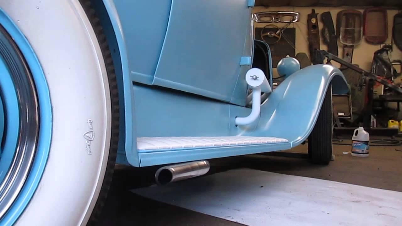 286ci Ford Flathead Idling After Rebuild